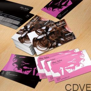 carte de visite express, imprimeur de votre carte de visite pour salon de coiffure, coiffeuse et coiffeur, design, personnalisée, originale, rapide et pas cher