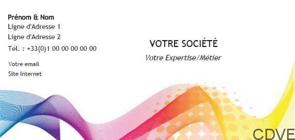 Carte De Visite Express Livraison Gratuite Pour Votre Correspondance Professionnel Et Particulier