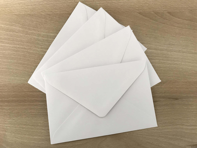 Enveloppe 90x140 Pour Carte De Visite Grand Format Ou Remerciement Dcs Pas Chre Et