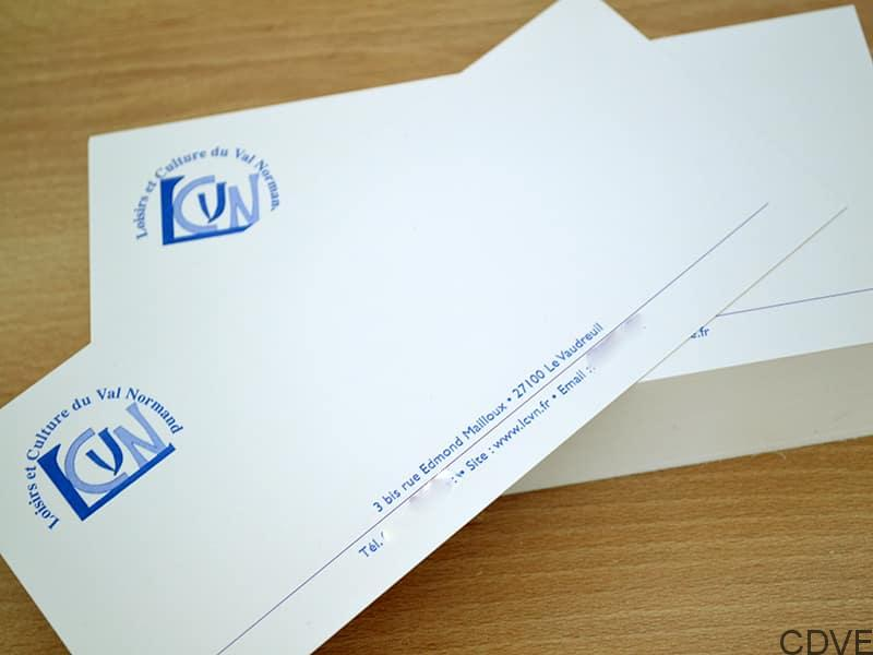 Carte de correspondance en express rapide et pas cher