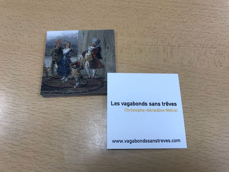 Carte De Visite Carree