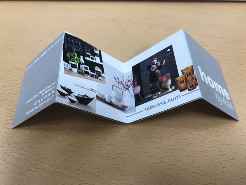 Carte De Visite Carree Deux Volet Pas Cher